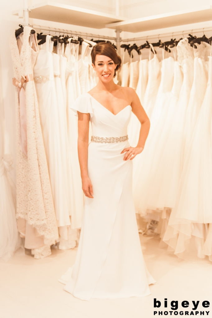 Dragonfly Wedding Dress Model
