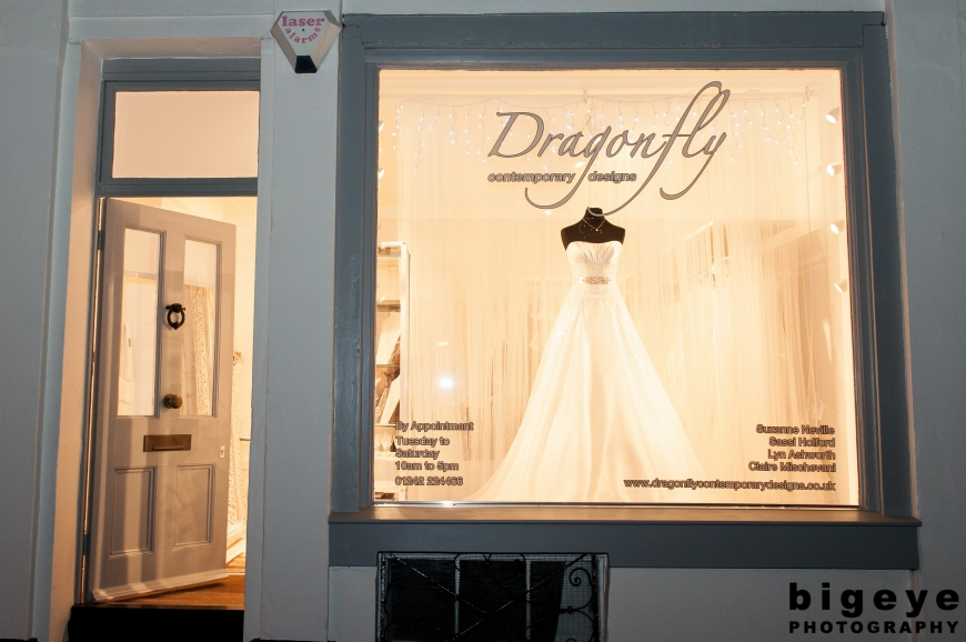 Dragonfly Contemporary Designs - Wedding Dress Shop Cheltenham