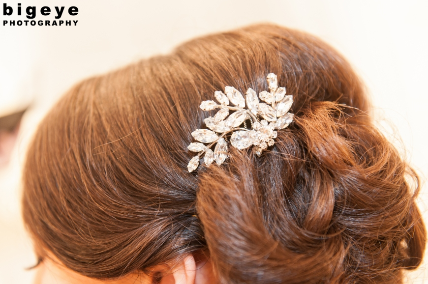 Vintage Brooch Hair sparkle