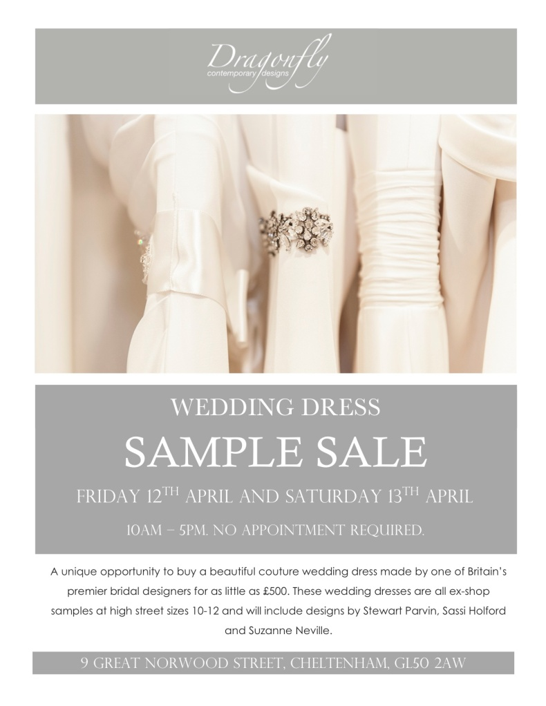 wedding dress sample sale cheltenham cotswolds