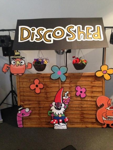disco shed wedding dj