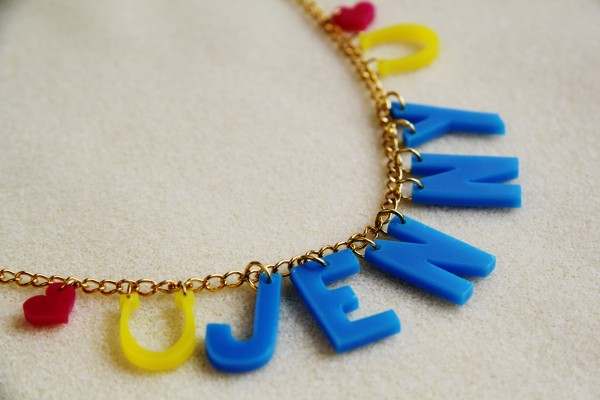 personalised hen do necklaces